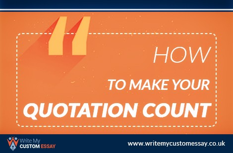 How To Make Your Quotation Count