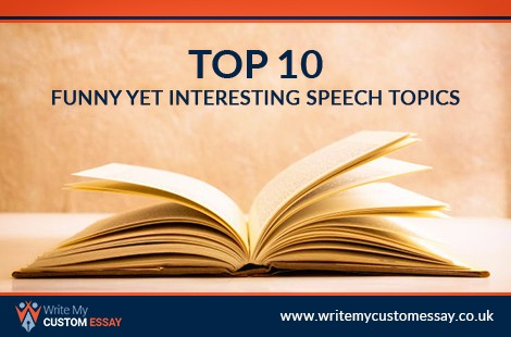 Top 10 Funny Yet Interesting Speech Topics