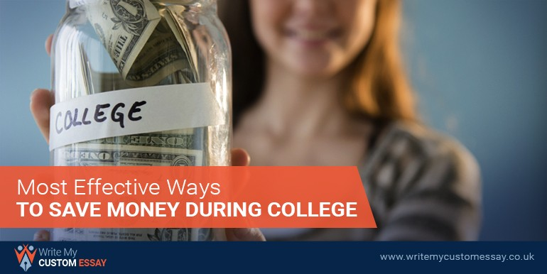 Most Effective Ways to Save Money During College
